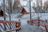 Santa Claus village in Lapland.   - 228012135