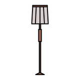 house lamp isolated icon - 228019136