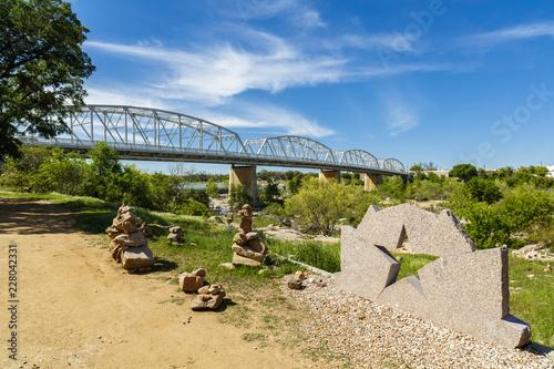 Wall mural Llano Texas Bridge