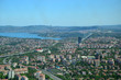 Istanbul City view from largest skyscraper Sapphire Tower, Turkey. Top view - 228058502