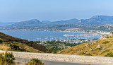 Strasse Bucht Alcudia Stadt Mallorca Mittelmeer Mallorca