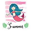 Mermaid illustration - 228079309
