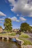 Village of Lower Slaughter, Gloucestershire
