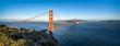 Golden Gate Bridge Panorama als Hintergrund