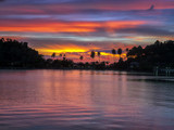 Tropical sea sunset - 228087514