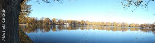 autumn at the lake - 228109129
