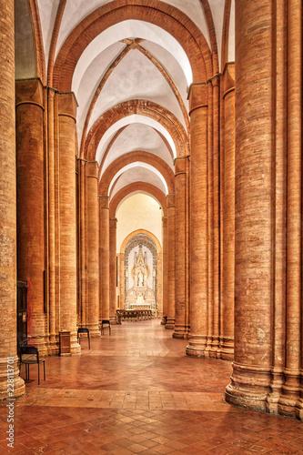 Wall mural Il colonnato del Duomo di Pavia