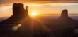 Leinwanddruck Bild - Monument valley. Navajo tribal park, USA.