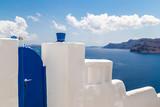 View and sea in Santorini, Greece - 228140196