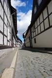Kopfsteinpflaster in der Kettenstraße von Goslar