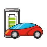mobile charge and vehicle autonomous car