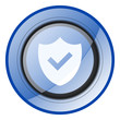 shield protect secure vector icon.