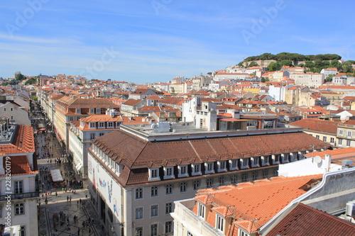 Fridge magnet city view