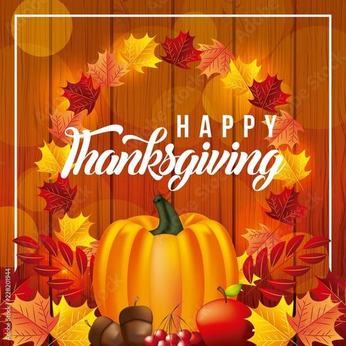 szczęśliwy święto dziękczynienia świętować