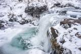 Frozen Waterfall Brecon Beacons