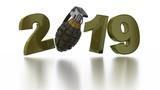 Military Grenade 2019 Popup design in Infinite Rotation - 228249949