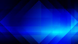 Abstract blue light and shade creative technology background. Vector illustration. - 228267929