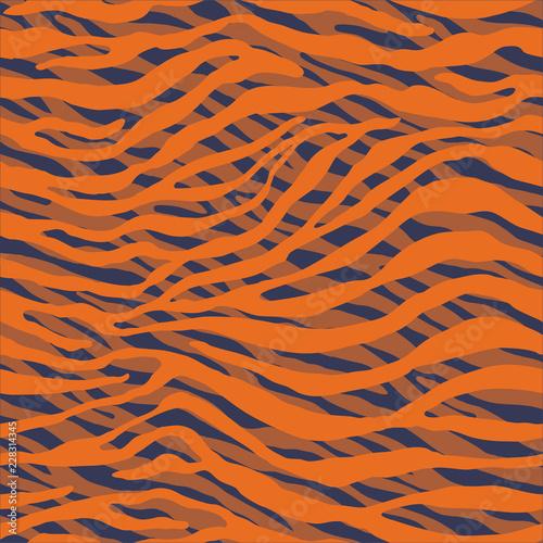 Seamless animal pattern for textile design / Vector illustration - 228314345