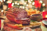 Glazed Holiday Ham - 228315769