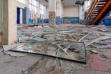 Destroyed building, inside. - 228330143