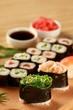 Maki Sushi Serving