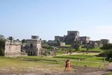 Tulum Archaeological Ruins Tulum Mexico