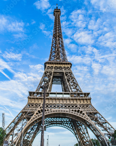 Poster eiffel tower in paris