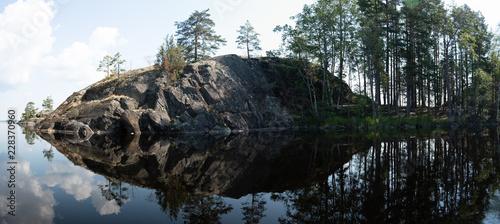 Finnish lakeside scenery - 228370960