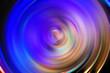 Leinwandbild Motiv Soft and blurred of swirling action background