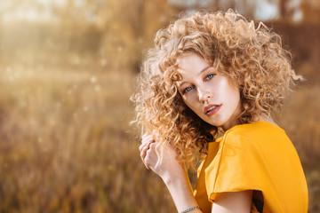 blonde pretty lady © Andrey Kiselev