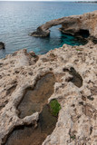 Stone arch near Agia Napa. Cyprus - 228390319