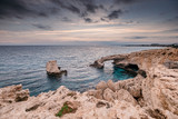 Stone arch at Agia Napa. Cyprus  - 228390726