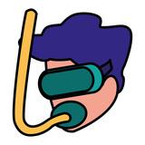 snorkel mask design - 228394124