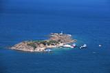 Small Island in the Aegean Sea - 228397722