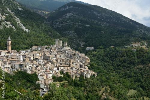 Scanno, jedna z najpiękniejszych wiosek we Włoszech