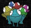 Color frog