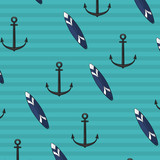 anchor surfboard background