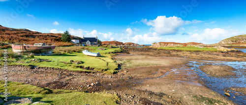 Leinwanddruck Bild Kintra on the Isle of Mull