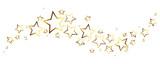 Gold stars border