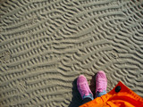 Nordsee, Priel, Muster, Persperktive, oben - 228578362