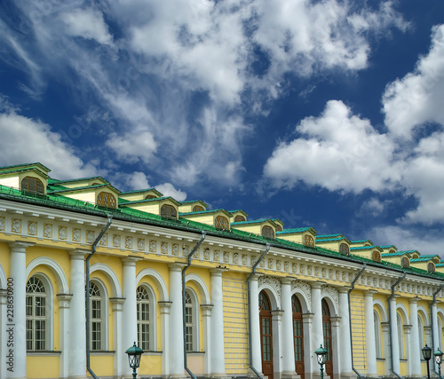 Manege Exhibition Hall in Moscow. Russia - 228630900