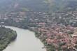 Mtskheta town near river in Georgia - 228640182
