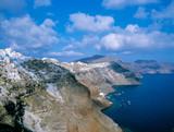 Steilküste auf Santorini - Griechenland