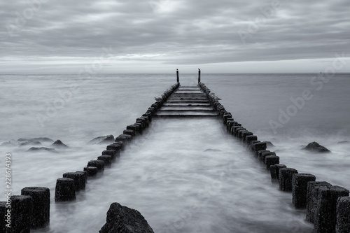 pier on the sea © Bernhard