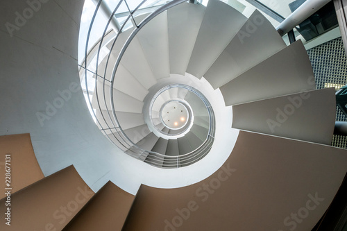Spiral staircases paris