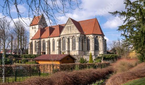 Leinwanddruck Bild Kirche St. Brictius, Schöppingen