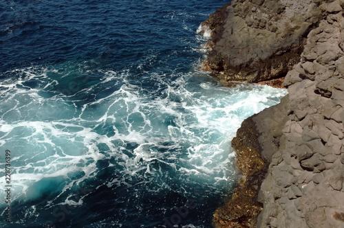 Le Cap Vert, île de Sal et Boavista, habitat, paysages, animaux, vagues - 228736399