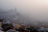 Foggy sunrise in Lisbon. Portugal - 228742924