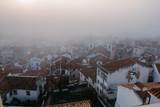 Foggy sunrise in Lisbon. Portugal - 228742975