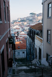 Narrow street in Lisbon. Portugal - 228743157